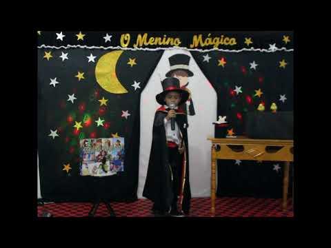 Assista: A cada criança convocada ao palco é ó vibração e alegria. e não poderia ser diferente, o menino mágico João Carlos, nos encantou com sua linda história.