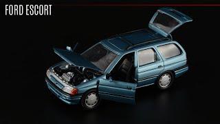 Driver's сарай: Ford Escort Mk V Turnier • Schabak • Масштабные модели автомобилей...