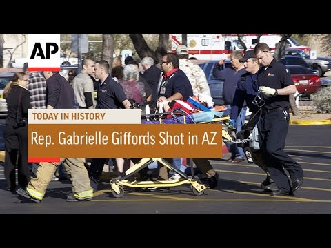Rep. Gabrielle Giffords Shot in Arizona - 2011 | Today in History | 8 Jan 17