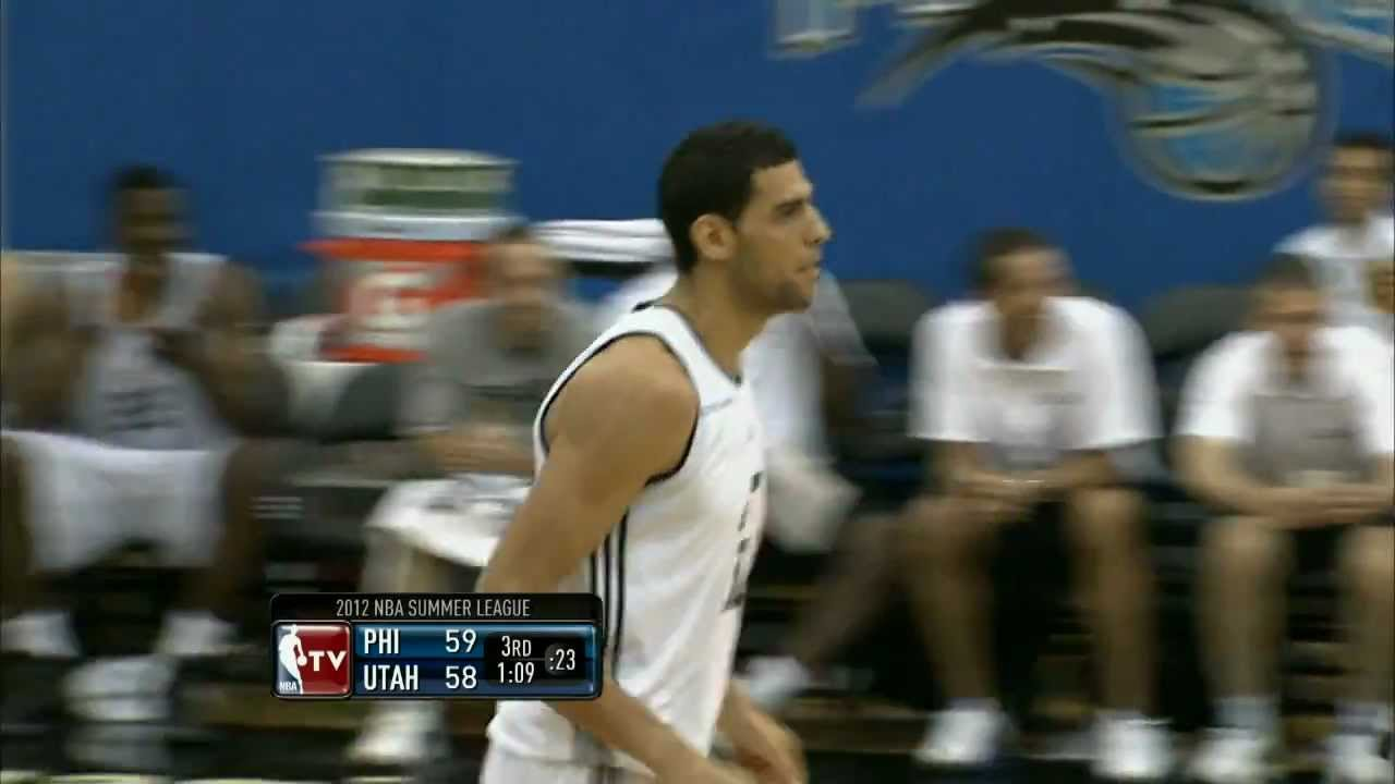 Summer League Philadelphia 76ers Vs Utah Jazz Youtube