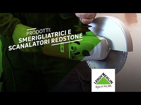Elettroutensili redstone per tagliare e smerigliare prodotti
