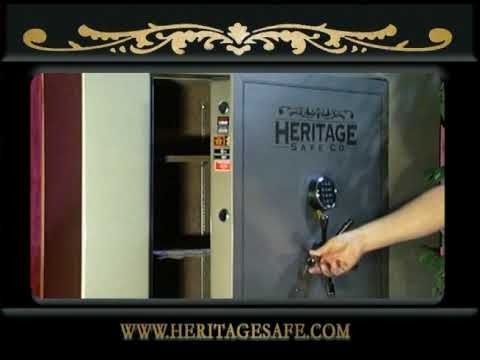 Gun Safes from Heritage Safe Company - www.HeritageSafe.com