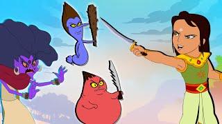Arjun - Jadugarni Ka Tantar Mantar! | Hindi Cartoon for Kids