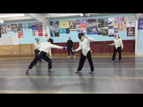 Fencing - Houston, Texas - Alliance Fencing Academy (Ready, Fence! - Part 2)