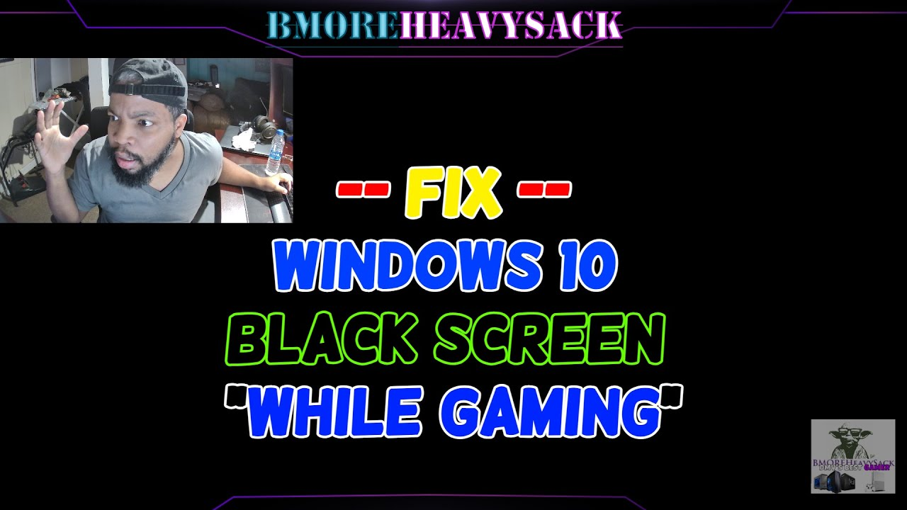 Download How To Fix Windows 10 Black Screen Crash When Playing Games   GPU Card Artifacts Issue