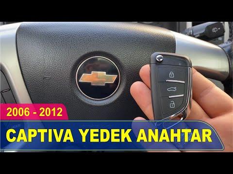 Chevrolet Captiva Anahtar Yapımı | Yedek Kopyalama - Oto Anahtarcı İstanbul