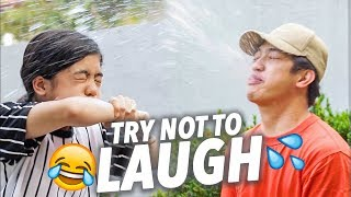 TRY NOT TO LAUGH CHALLENGE!! | Ranz and Niana