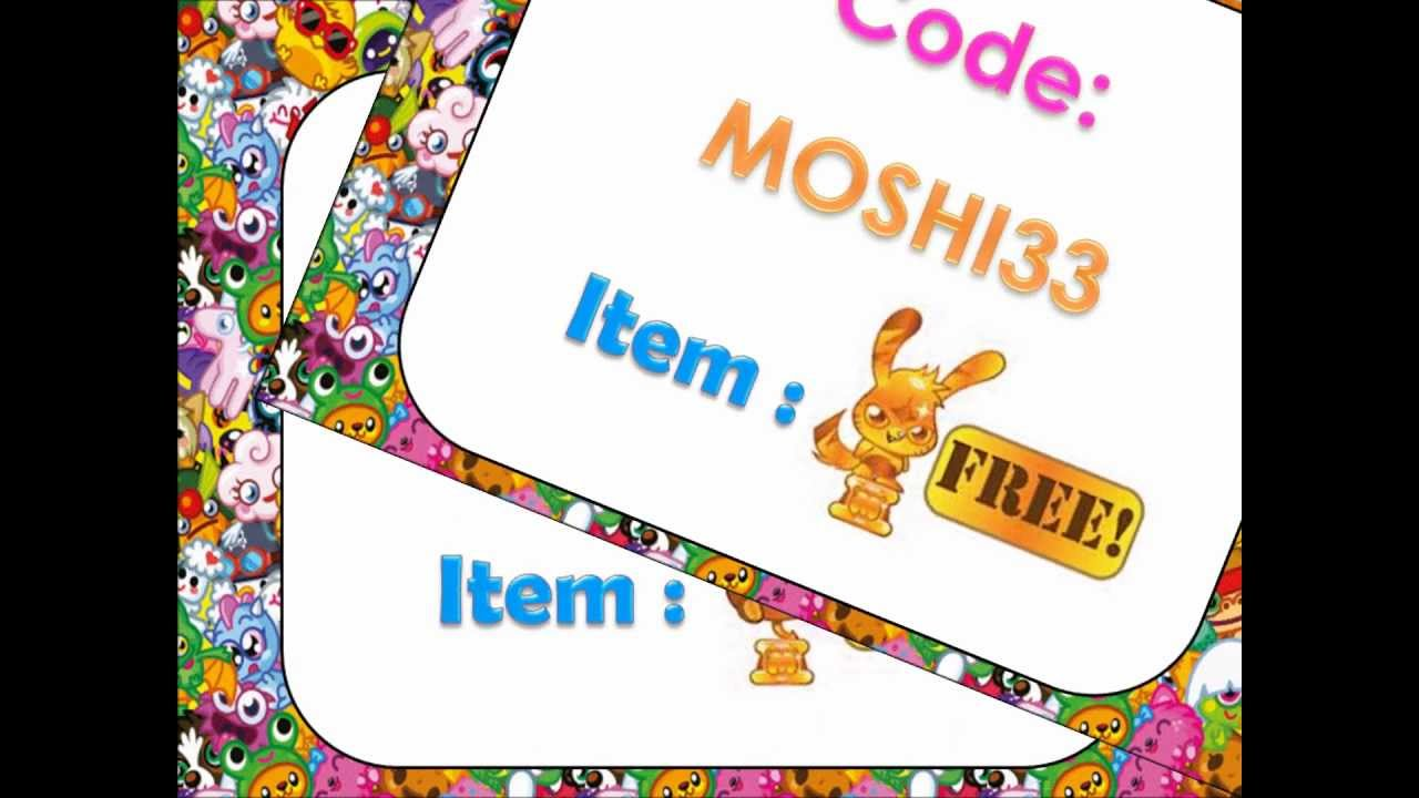 NEW secrets codes from Moshi Monsters YouTube
