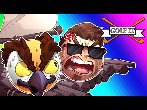 Golf It Funny Moments - Mad Moo and Tryhard Vanoss! (Remix Intro)