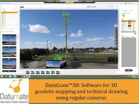 DatuGram™3D Case Studies Surveying & Mapping in the 21st Century Using Regular Cameras Webinar