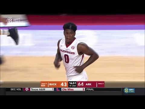 Arkansas vs. Bucknell 11/12/2017