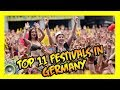Gambar cover Top 11 Festivals In Germany 🎵🇩🇪 Get Germanized