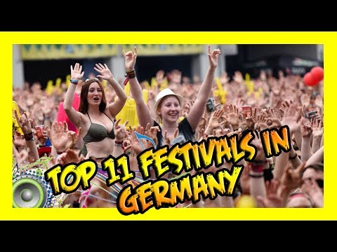 Top 11 Music Festivals In Germany 🎵🇩🇪 Get Germanized