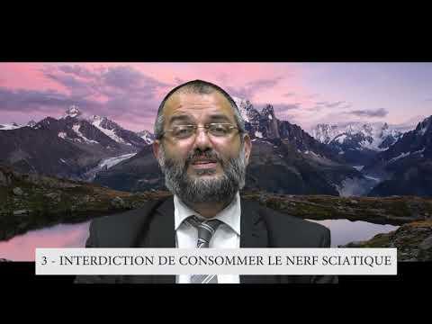 613 Mitsvot - 3eme Commandement DE LA TORAH - Interdiction de consommer le nerfs sciatique