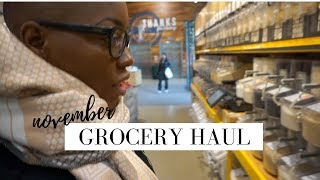 Grocery Haul for One | $50 Monthly Budget | STACEY FLOWERS