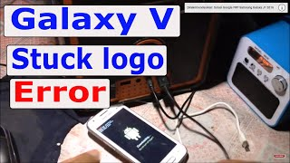 CARA FLASH/INSTAL ULANG SAMSUNG GALAXY V (VIA ODIN)