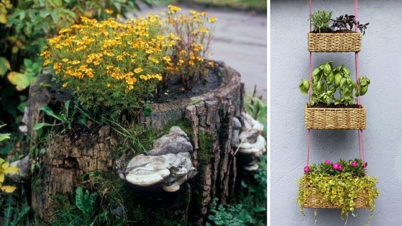 5 Cute Planter Ideas For Your Small Garden 🌼