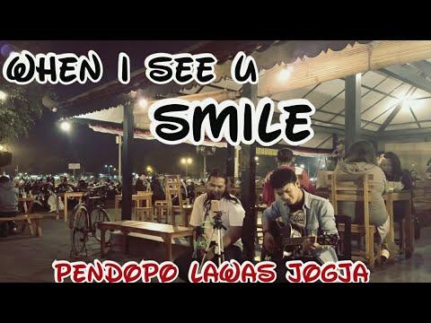 When I See You Smile Cover -  - Angkringan Pendopo Lawas Jogja