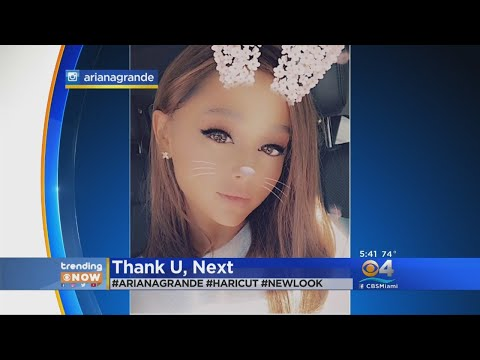 Trending: Ariana Grande Cuts Off Hair