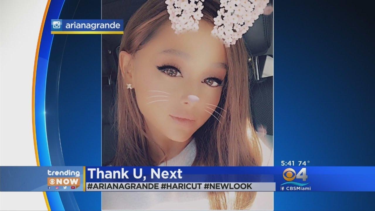 Trending: Ariana Grande Cuts Off Hair