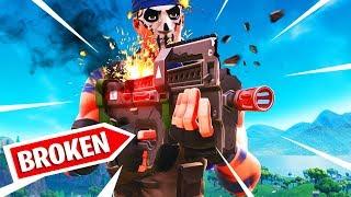 THE SMG IS BROKEN!! PLEASE NERF!! | Fortnite Battle Royale