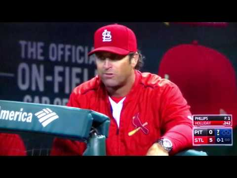 Matt Holliday HR in possible last at bat as a STL Cardinal...