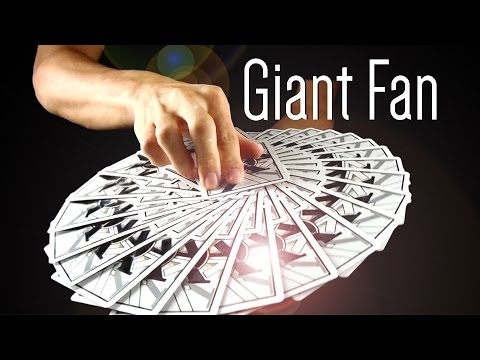 Tutorial de leque - Giant Fan