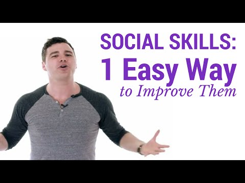 1 Simple Way to Improve Social Skills (HUGE Results)