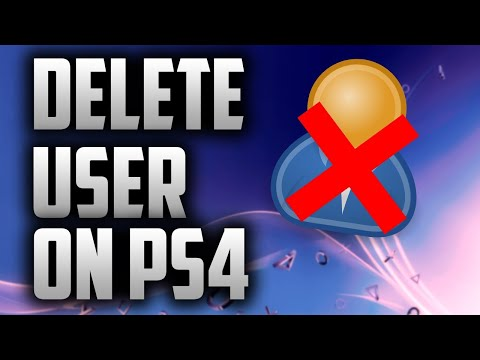 How to DELETE Old Ps4 accounts! New 2019!!