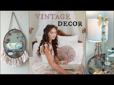 DIY vintage decor - french, whimsical, shabby chic aesthetic