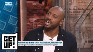 Jay Williams, Jalen Rose react to Kawhi Leonard's letter to fans | Get Up! | ESPN