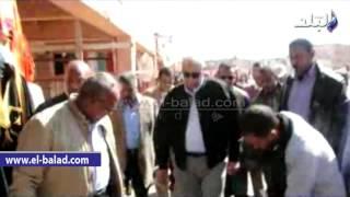 بالفيديو والصور.. محافظ أسوان يوجه بوضع تصور شامل لتطوير منطقة معبد إدفو