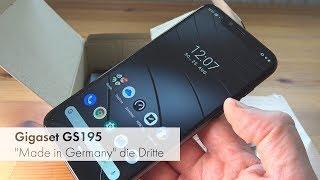 Gigaset GS195 | Made-In-Germany-Smartphone für 200 Euro im Test [Deutsch]