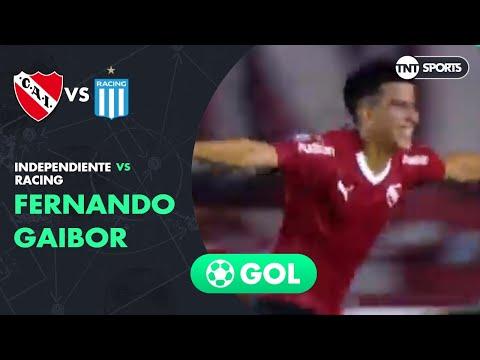 Fernando Gaibor (1-1) Independiente vs Racing | Fecha 20 - Superliga Argentina 2018/2019
