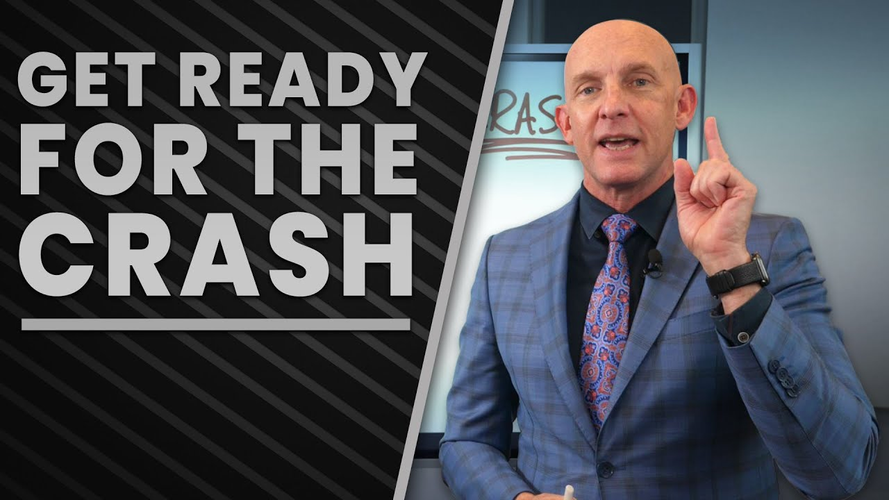 HOW TO GET READY FOR THE REAL ESTATE MARKET CRASH IF YOU WANT TO GET RICH - KEVIN WARD