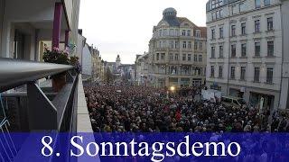 Wir sind Deutschland Kundgebung Plauen 08.11.2015 | 8. Sonntagsdemo