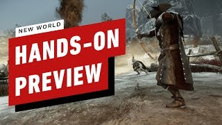 New World: Hands On With Amazon's Open World Mmorpg