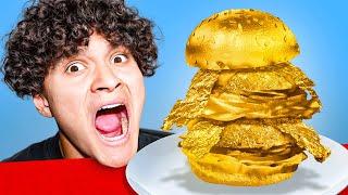 I Ate A $10,000 Golden Burger