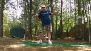 Bradley Hughes Golf- Impact and the Flat left wrist