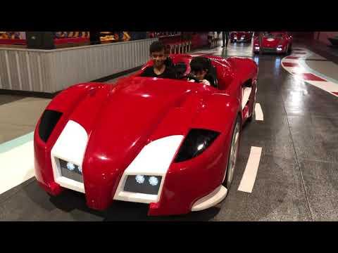Arhaan Maru kabir Maru Ferrari world Dubai 2019-7