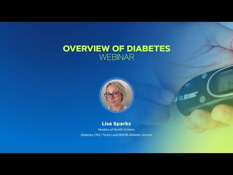 Overview Of Diabetes Webinar Lisa Sparks