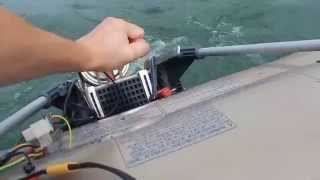 DIY Electric Outboard (Hub Motor Based) Second run