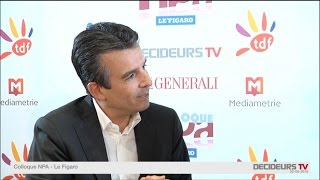 Colloque NPA-Le Figaro 2015 : Thierry Cammas - MTV/ Viacom