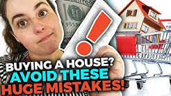 4 Mistakes We Made Buying Our First House | First Time Home Buying Mistakes