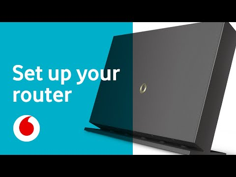 How To: Set Up Your Vodafone Router
