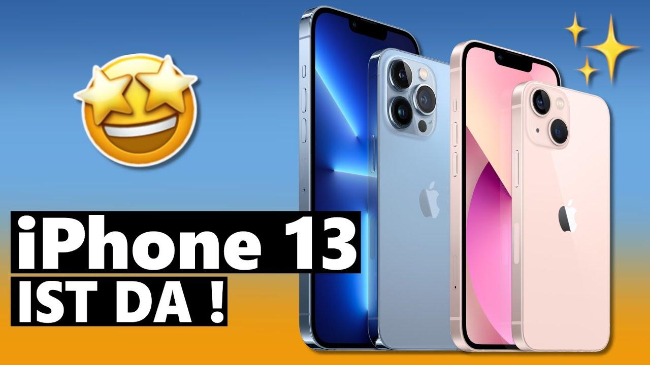 iPhone 13 (mini & Pro) vorgestellt - ALLE Infos, Preise & Termine