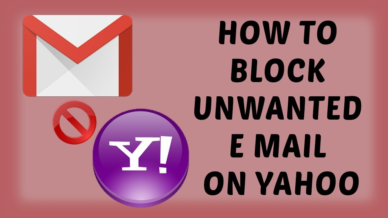 How to Block Unwanted E Mail On Yahoo | Block an Email Address on Yahoo -  Hindi