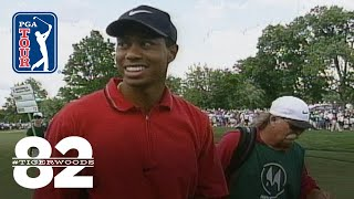 Tiger Woods wins 1997 Motorola Western Open   Chasing 82