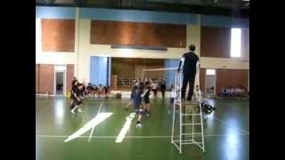 Volley Ap.Markou vs Ag.Gewrgiou 2008-2009