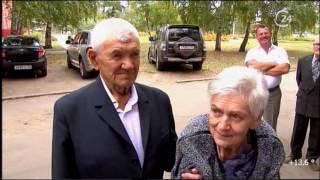 Супруги Николай и Зинаида Гетмановы отметили бриллиантовую свадьбу